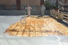 ikitelli polyurea sprey su yalıtımı teras üzeri