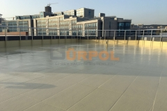 maltepe adliyesi ek binası polyurea su yalıtımı üzeri uv boya