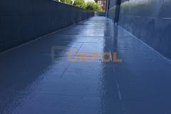 tuzla aydınlı fabrika terası su yaltımı uygulaması