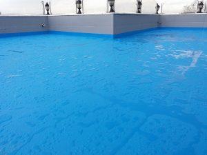 sprey polyurea açık teras su yalıtımı