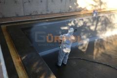 sprey polyurea havuz yalıtımı